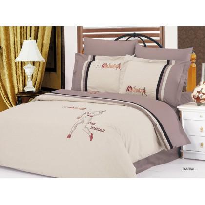 Комплект постельного белья 6 предметов евро